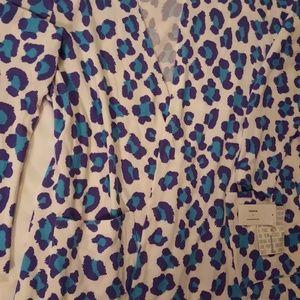 LuLaRoe Caroline Large WT Leopard Print